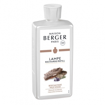 Bois Sauvage - Wildes Holz 500ml - Lampe Berger