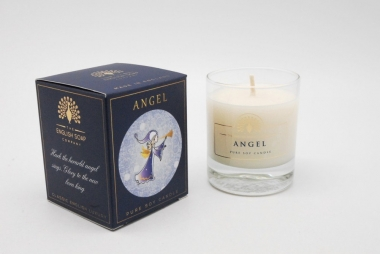 English Soap Company Soja-Kerze Angel 170g in Dekobox