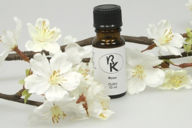 Rose Duftöl Parfümöl 10 ml in Braunglasflasche