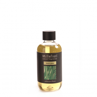 Lemon Grass Millefiori Nachfüller für Stick Diffusor Natural Fragrances 250 ml