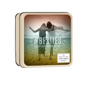 Seife in der Dose Soap in Tin 100 gr - #BESTIES Scottish Fine Soaps