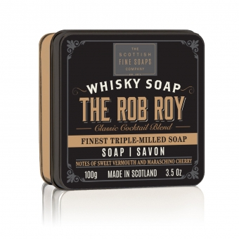 Seife in der Dose Soap in Tin 100 gr - The Rob Roy Whiskey  Scottish Fine Soaps