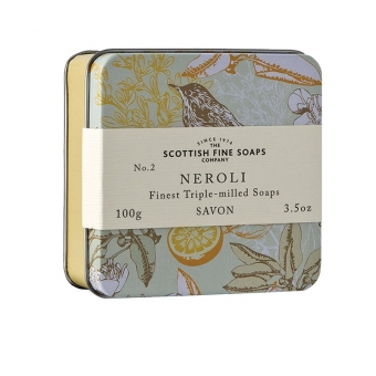 Seife in der Dose Soap in Tin 100 gr - Neroli Scottish Fine Soaps