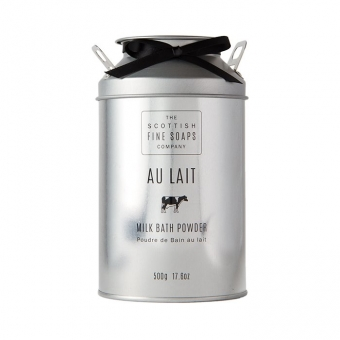Bath Powder Badepuder 500 gr - Au Lait Scottish Fine Soaps