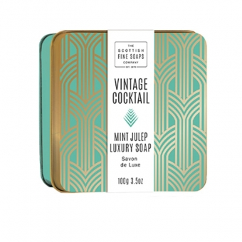 Seife in der Dose Soap in Tin 100 gr - Mint Julep Scottish Fine Soaps
