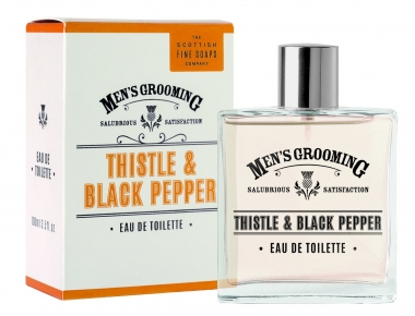 Eau de Toilette EDT 100ml - Men's Grooming Scottish Fine Soaps
