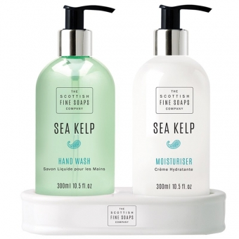 Handpflegeset Hand Care Set 2 x 300 ml - Sea Kelp Scottish Fine Soaps