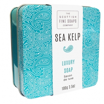 Seife in der Dose Soap in Tin 100 gr - Sea Kelp Scottish Fine Soaps