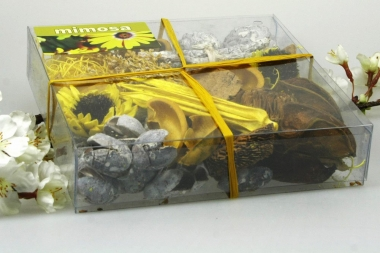 Duftpotpourri Sun Flowers in Dekobox 180 Gramm