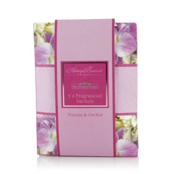 Freesia and Orchid - Ashleigh & Burwood 3x Duftsachets