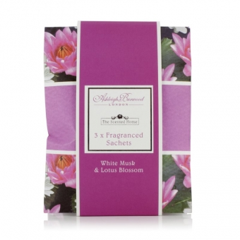White Musk and Lotus Blossom - Ashleigh & Burwood 3x Duftsachets