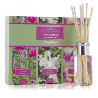 Floral Collection, 3 x 50ml Diffusoren - Ashleigh & Burwood Raumduft Triopack